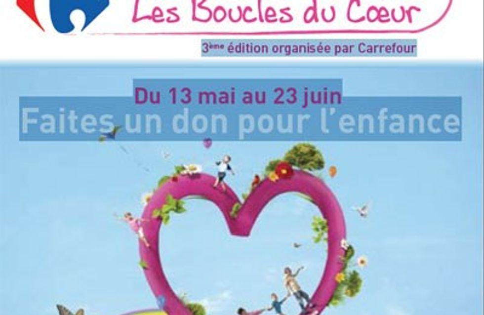 Les Boucles du Coeur soutiennent les enfants !