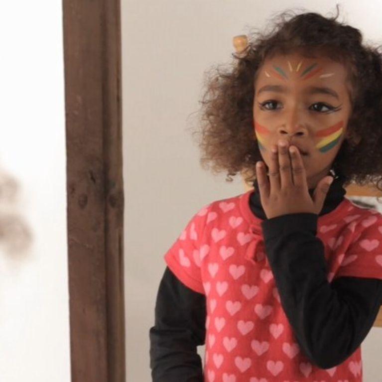L\u0027indienne , Tutoriel Maquillage Enfant Facile