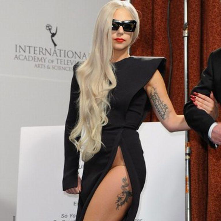 La D'elle Sans Culotte Photo Gaga Lady 5w8USS