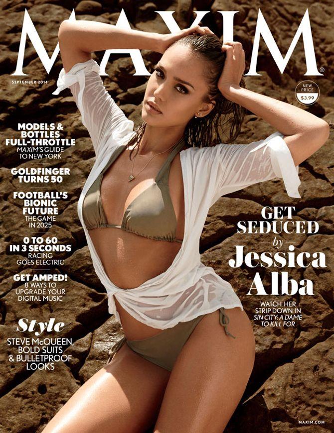 Jessica Alba pour Maxim