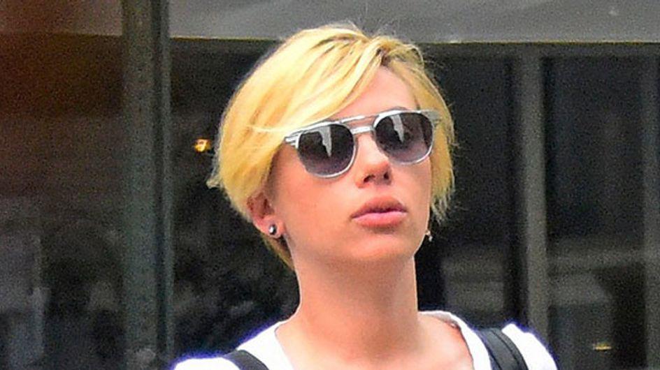 Scarlett Johansson Debuts Brave New Pixie Chop