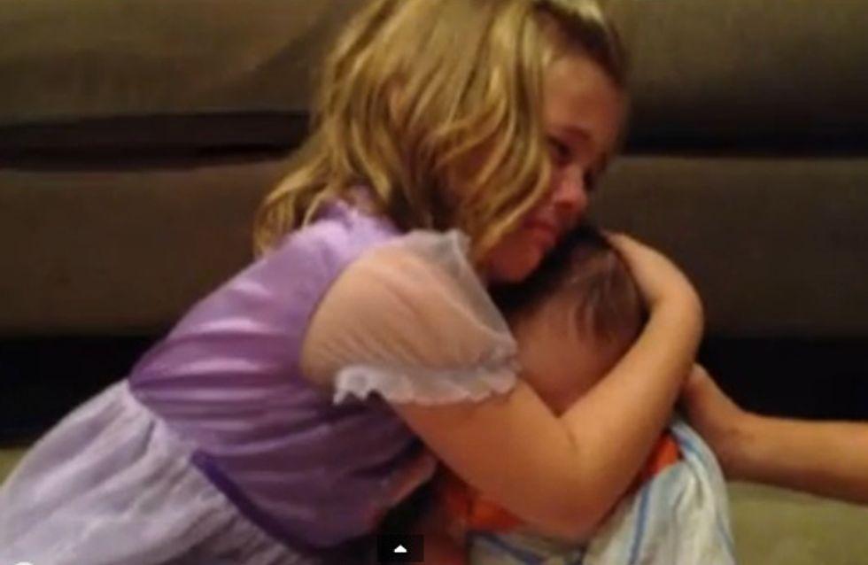 Le message d'amour de cette fillette pour son frère va vous émouvoir