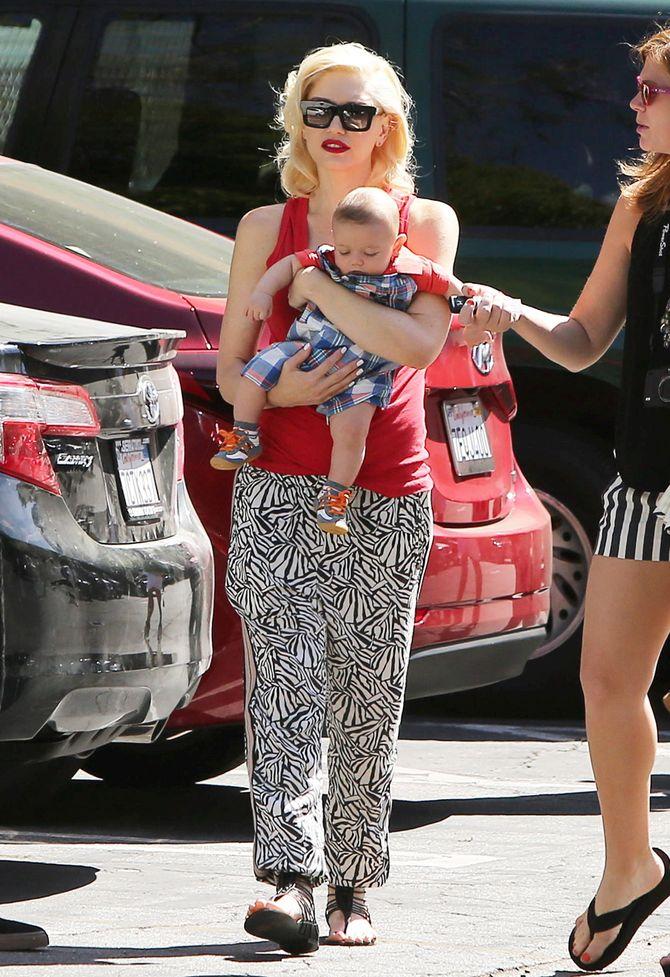 Gwen Stefani mise sur un look casual