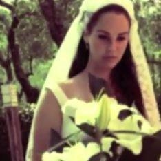 Lana Del Rey : Une mariée vintage et sensuelle pour son dernier clip (Vidéo)