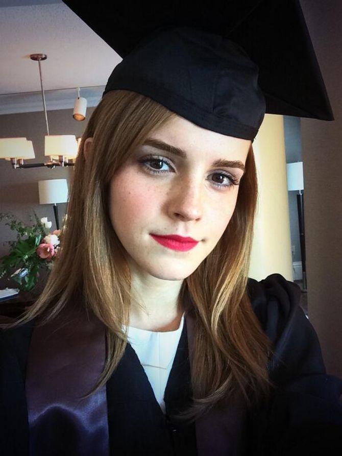 Emma Watson, nouvelle diplômée
