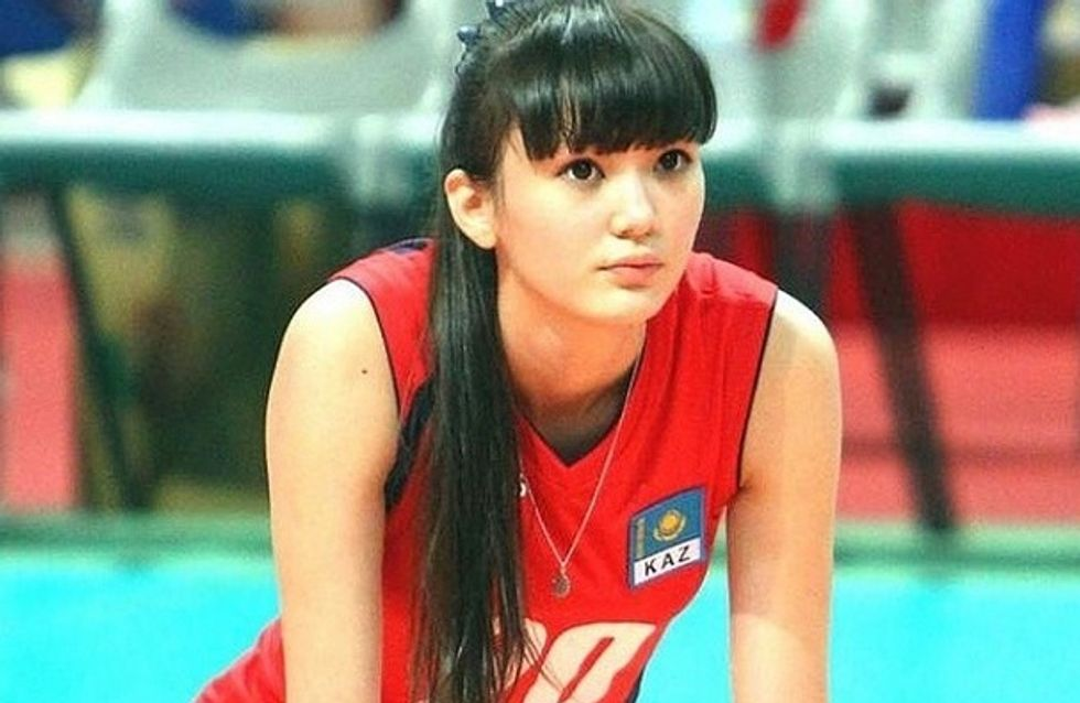 Sabina Altynbekova, en el punto de mira por ser demasiado guapa para jugar al voleibol
