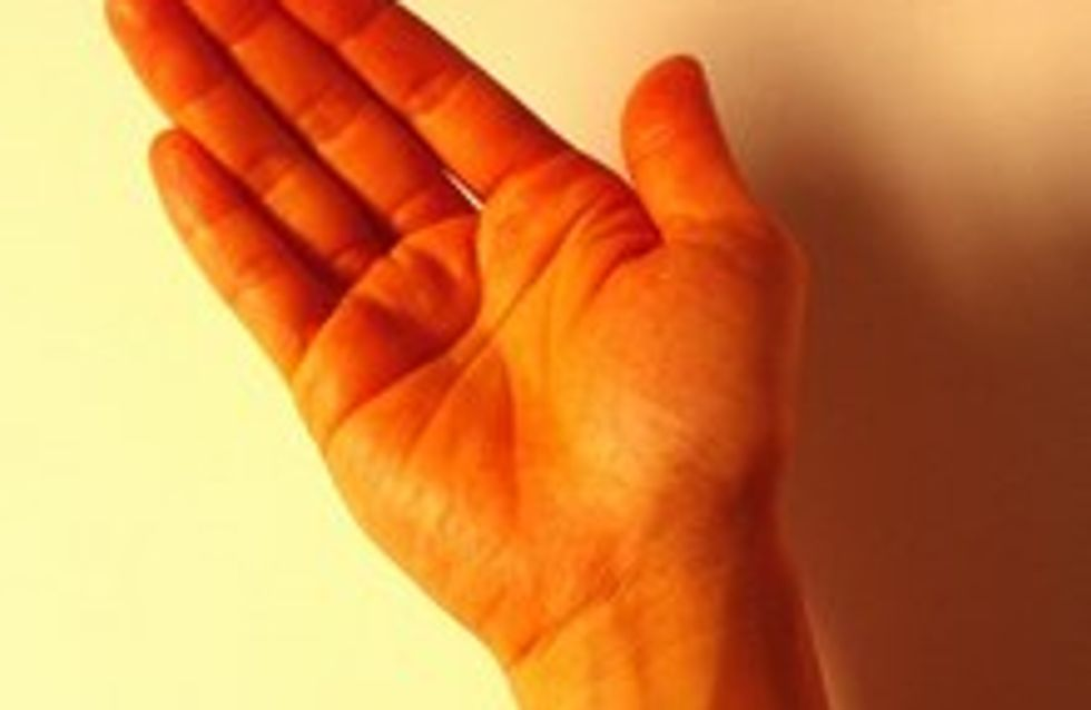Leggere le linee della mano