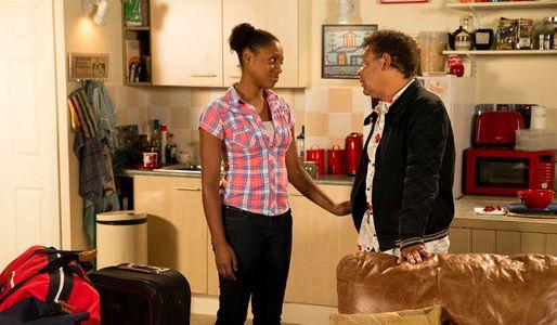 Michael knocks Gail for six