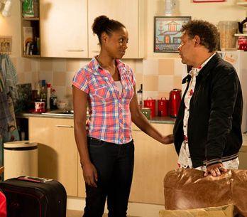 Coronation Street 13/08 – Michael knocks Gail for six