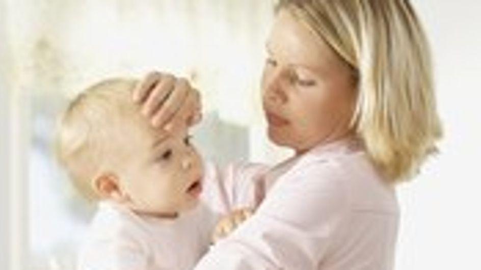 Il tuo bambino ha la febbre