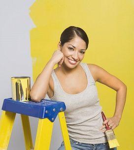 Correggere i difetti quando si dipingono le pareti di casa
