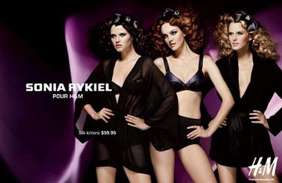 Sonia Rykiel disegna lingerie per H&M