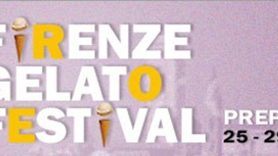 Torna il Firenze Gelato Festival