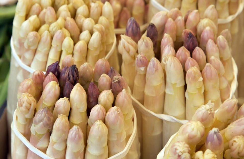L' asparago rosa a Mezzago