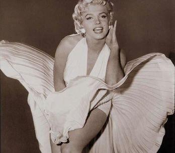Asta per l'abito bianco di Marilyn