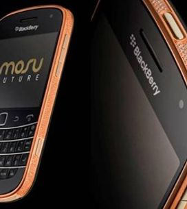 Il BlackBerry in oro rosa da 2000 euro