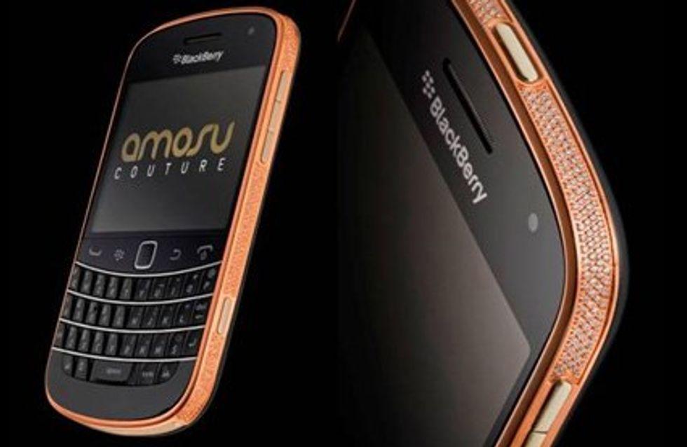 Il BlackBerry in oro rosa da 2000 euro