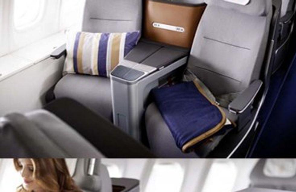 Lufthansa: riposo di lusso sugli aerei
