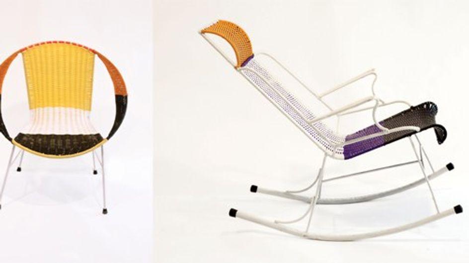 Marni: le sedie in PVC colorato