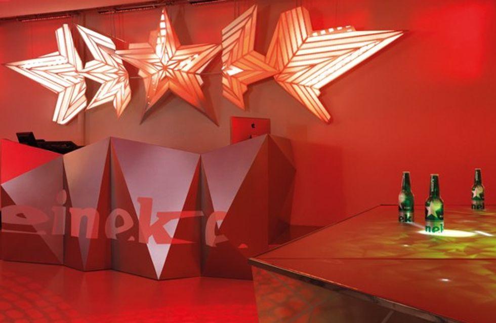 Il club di design di Heineken
