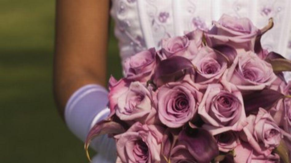 La bellezza batte l'abito da sposa