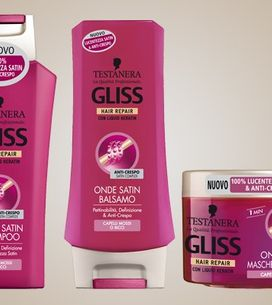 La nuova linea di prodotti per capelli mossi