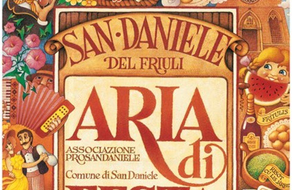 Il prosciutto San Daniele in festa