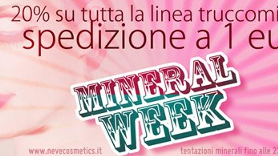 Una settimana di bellezza minerale