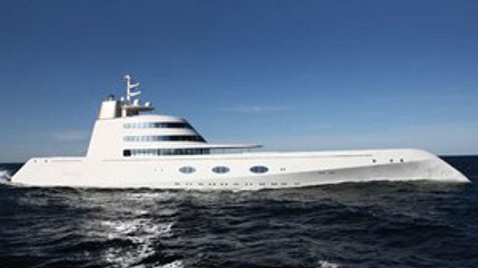 Un lussuoso yacht da 400 milioni