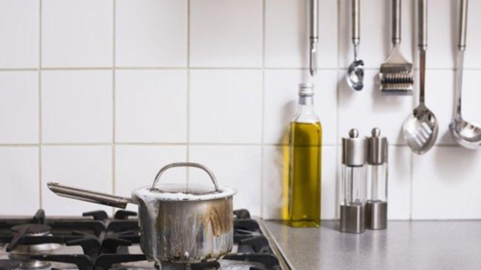 La cucina? Il luogo più pericoloso