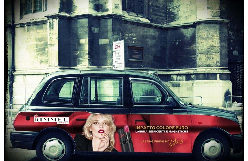 Il Rimmel Cab arriva a Milano