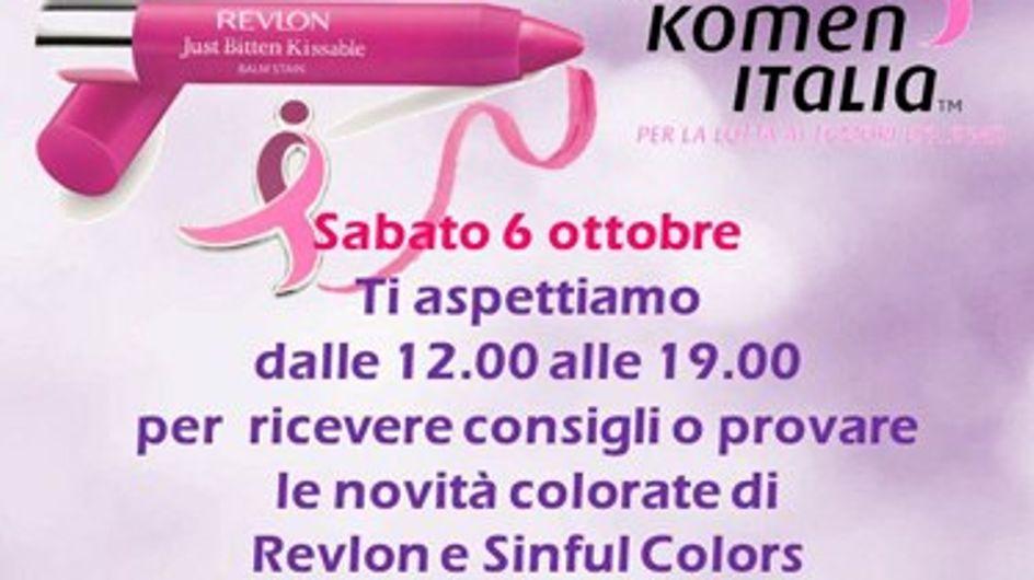 Revlon partecipa alla lotta ai tumori