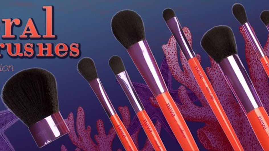 I nuovi pennelli Neve Cosmetics