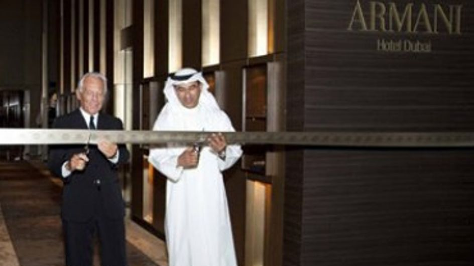 Armani apre a Dubai