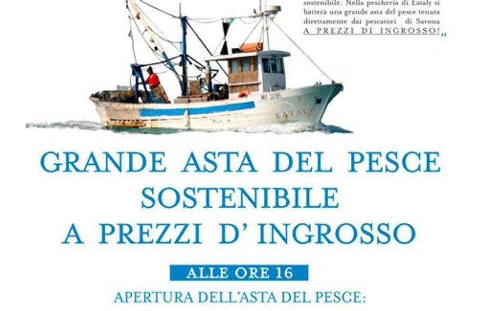 Asta del pesce sostenibile