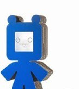 Ted, la lampada di cartone in 3D
