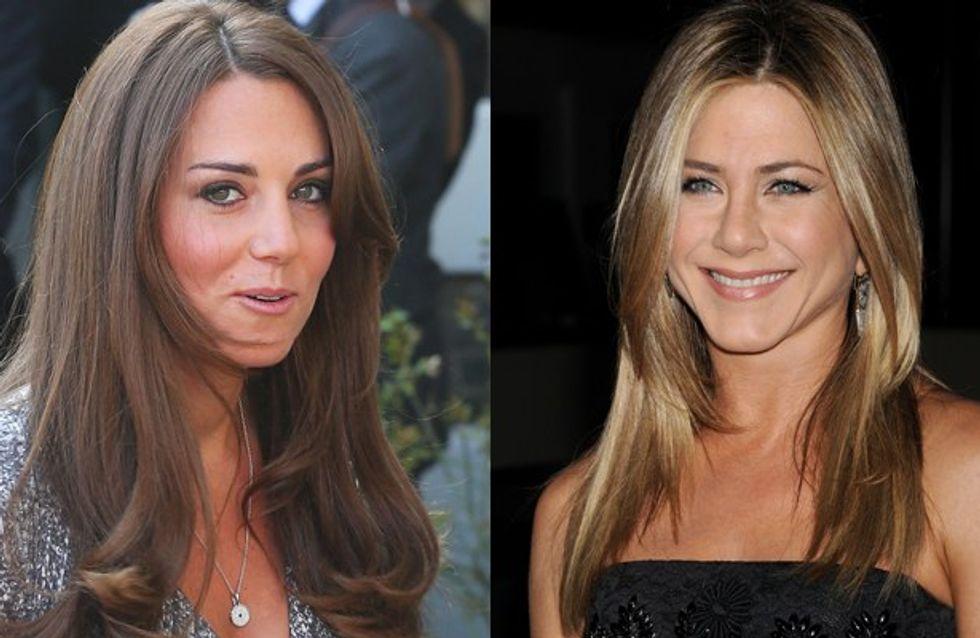 """Aniston:""""Vorrei i capelli della Middleton"""""""