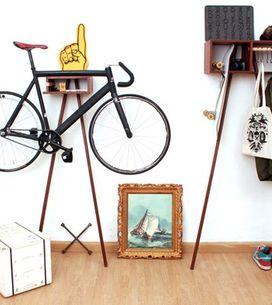 La bici? Si parcheggia in casa