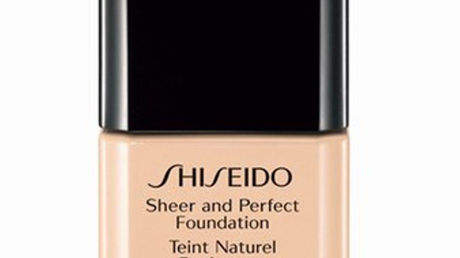 Shiseido Sheer and Perfect Foundation SPF15 per un incarnato perfetto