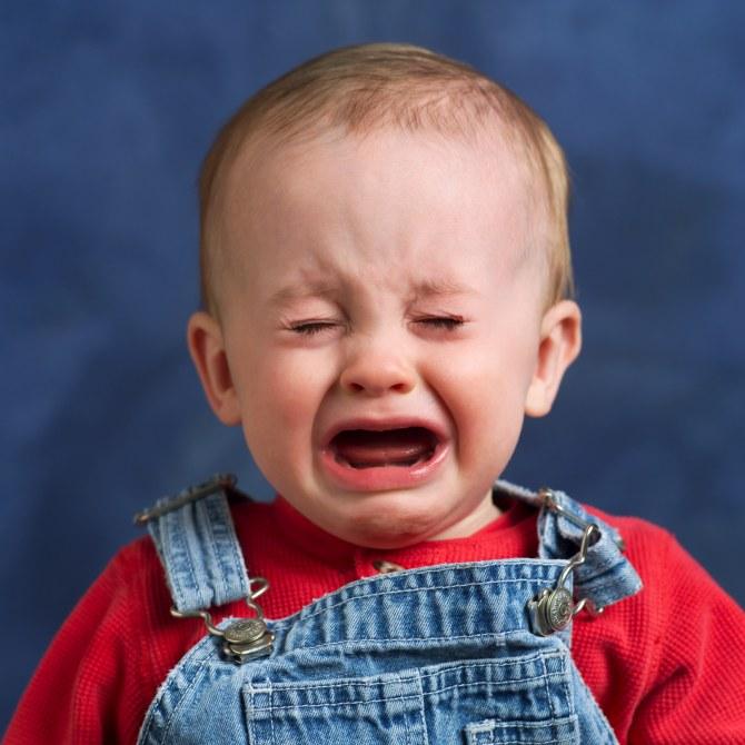 Pianti del bambino causati da ansia della madre