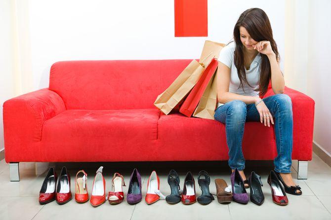 1 vrouw op 5 meer opgewonden van schoenen dan van haar partner