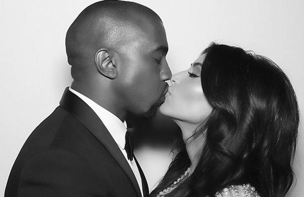 Kim Kardashian : Au lit avec Kanye West (Photo)