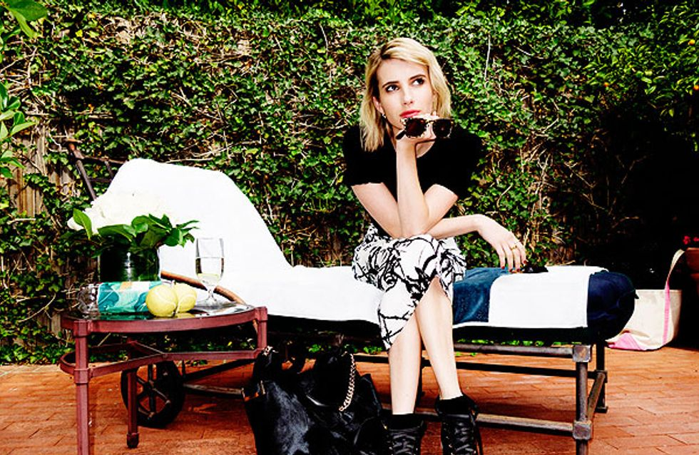 Emma Roberts : Un journal de bord fashion pour Jimmy Choo