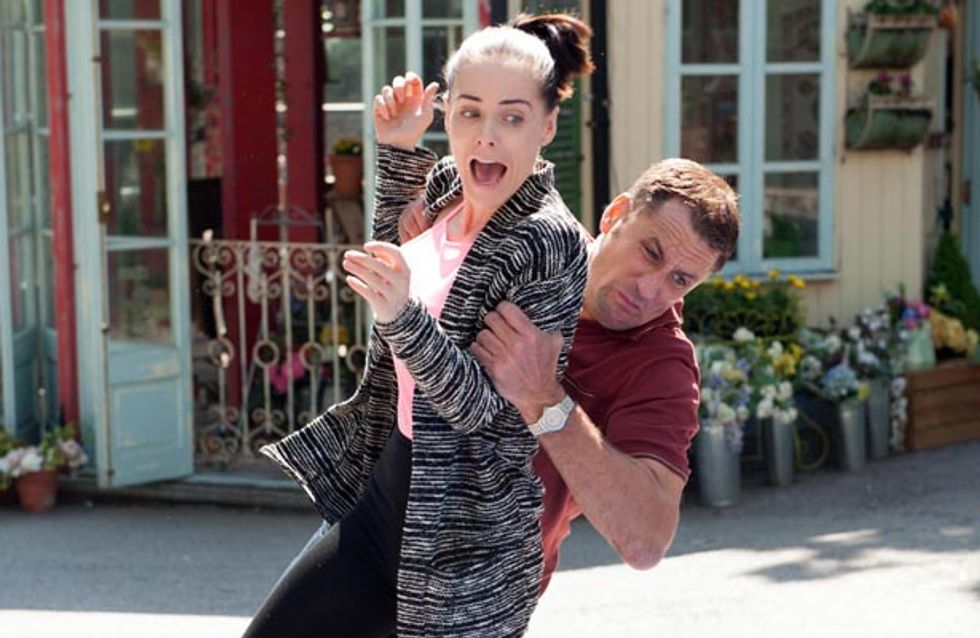 Hollyoaks 11/08 – There's a near miss for Tony and Sinead