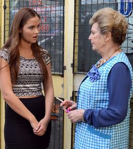 Eastenders 11/08 – Linda is upset after Cora's outburst in The Vic