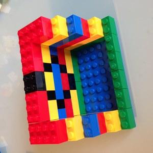 Etape 5 - Tuto repose téléphone portable LEGO