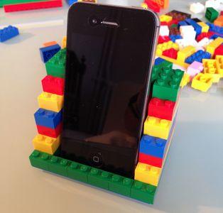 Etape 7 - Tuto repose téléphone portable LEGO