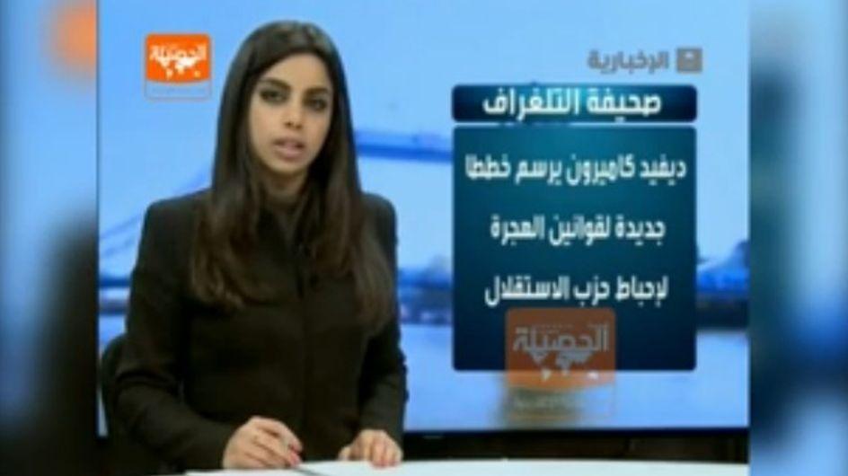 Indignación en Arabia Saudí por la aparición de una presentadora de informativos sin velo