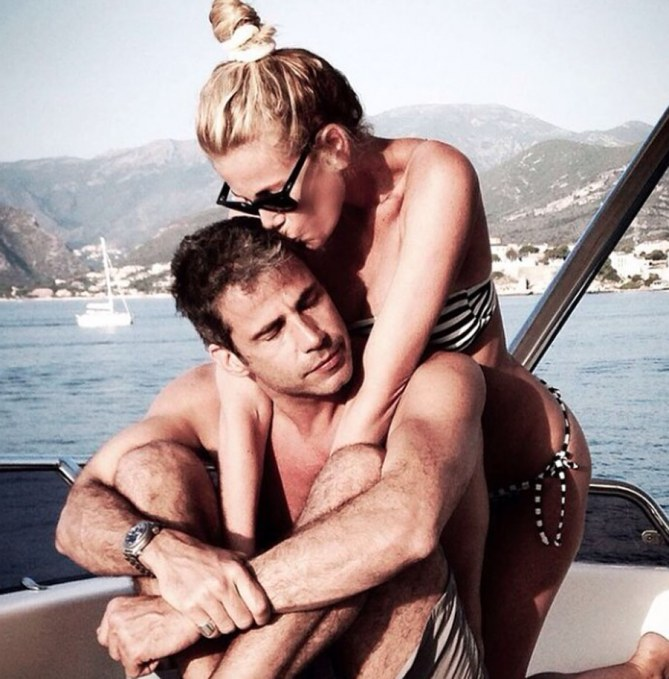 Alessia Marcuzzi e il fidanzato