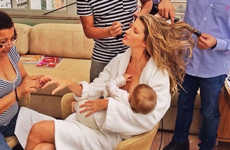 L'allaitement en public est-il choquant ?